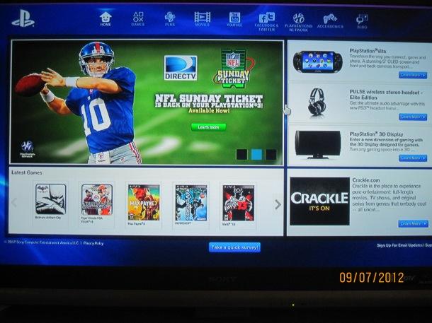PS3 Portal Beta
