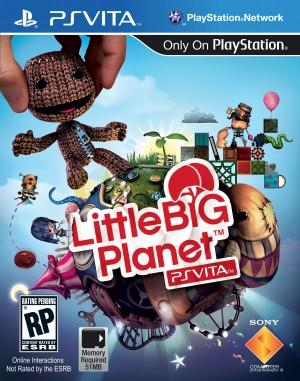 Little Big Planet vita Boxart