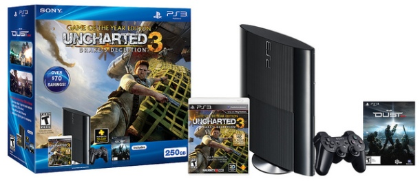 New Uncharted 3 GOTY Edition Bundle