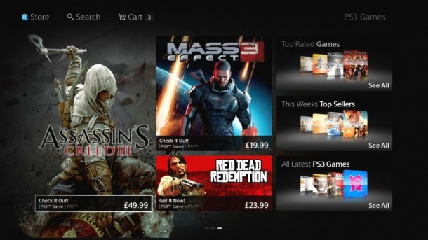 New PlayStation Store 4