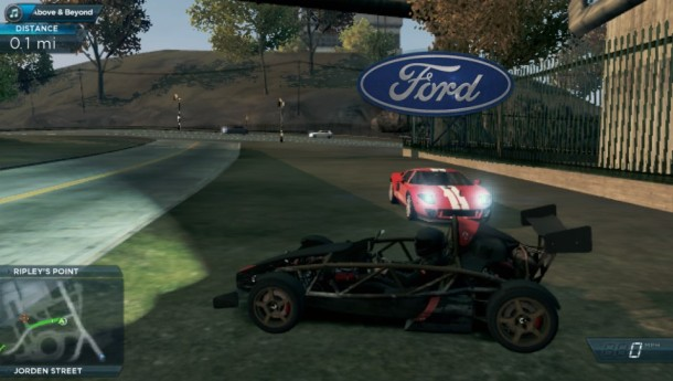 NFS: Most Wanted Vita