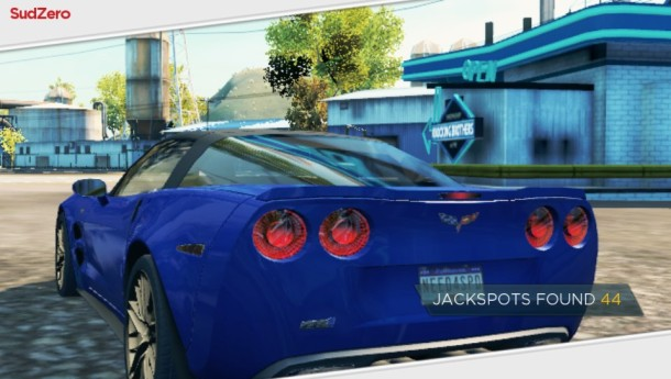 NFS:Most Wanted PS Vita Corvette